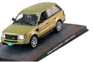 RANGE ROVER SPORT-CASINO ROYALE 2006 METALLIC GOLD