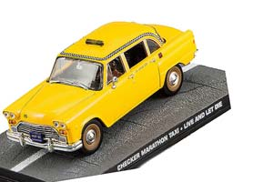 CHECKER MARATHON TAXI LIVE AND LET DIE 1973 YELLOW