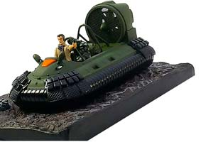 HOVERCRAFT DIE ANOTHER DAY 2002 GREEN