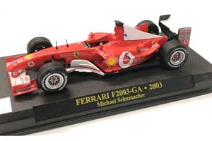 FERRARI F2003-GA 2003 M.SCHUMACHER #1