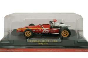 FERRARI 312 F1 1968 GP FRANCE WINNER J.ICKX #26