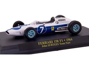 FERRARI 158 F1 TEAM NART 1964 J.SURTEES #7 WORLD CHAMPION