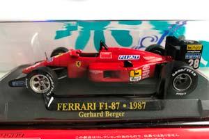 FERRARI F1-87 1987 G.BERGER #28 *ФЕРРАРИ ФЕРАРИ ФИРАРИ ФИРРАРИ