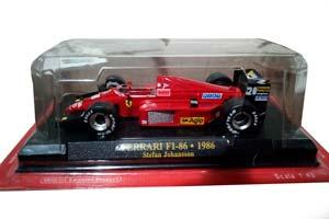 FERRARI F1-86 1986 S.JOHANSSON #28