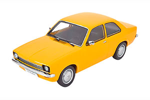 OPEL KADETT C SALOON 1973-1977 OCHRE-YELLOW LIMITED EDITION 1500 PCS