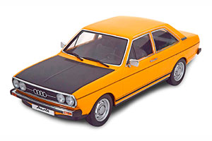 AUDI 80 GTE 1972 OCHRE-YELLOW BLACK LIMITED EDITION 1500 PCS