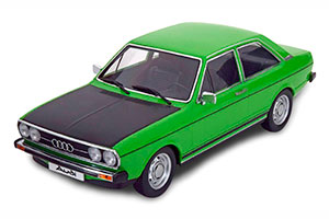 AUDI 80 GTE 1972 GREEN BLACK LIMITED EDITION 1500 PCS