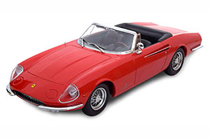 FERRARI 365 CALIFORNIA SPYDER 1966 RED LIMITED EDITION 2250 PCS