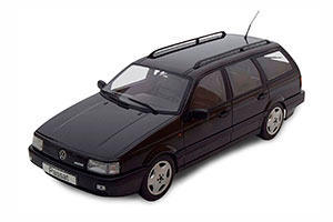 VW PASSAT B3 VR6 VARIANT 1988 BLACKMETALLIC LIMITED EDITION 1000 PCS