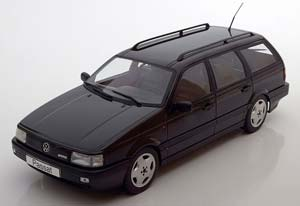 VW Volkswagen Passat B3 VR6 Variant 1988 Black Metallic Limited Edition 1000 pcs.