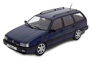 VW PASSAT B3 VR6 VARIANT 1988 DARKBLUE LIMITED EDITION 1000 PCS