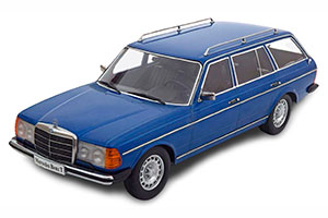 MERCEDES 250T W123 ESTATE 1978-1982 BLUEMETALLIC LIMITED EDITION 1500 PCS