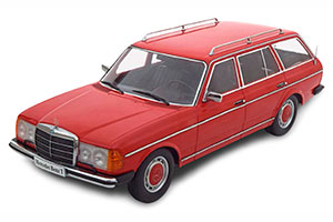 MERCEDES 250T W123 ESTATE 1978-1982 RED LIMITED EDITION 1500 PCS