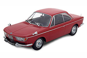 BMW 2000 CS COUPE 1965 DARKRED LIMITED EDITION 1000 PCS