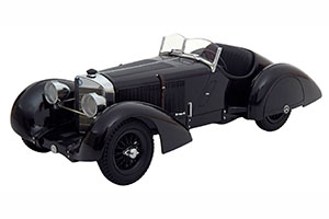 MERCEDES SSK COUNT TROSSI THE BLACK PRINCE 1930 LIMITED EDITION 3000 PCS