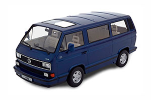 VW BULLI T3 MULTIVAN LIMITED LAST EDITION 1992 BLUEMETALLIC LIMITED EDITION 1750 PCS