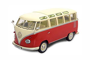 VW BULLI T1 SAMBA 1962 RED CREME LIMITED EDITION 750 PCS