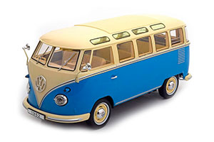 VW Volkswagen T1 Samba Bus 1959 Blue/Beige