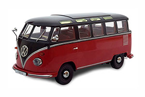 VW BULLI T1 SAMBA 1962 RED BLACK LIMITED EDITION 1500 PCS
