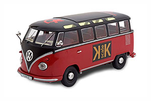 VW BULLI T1 SAMBA TOY FAIR NUERNBERG 2019 RED BLACK LIMITED EDITION 100 PCS