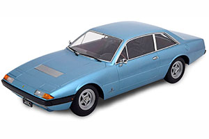 FERRARI 365 GT4 2+2 1972 LIGHTBLUE-METALLIC LIMITED EDITION 1000 PCS