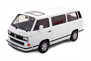 VW BUS T3 WHITE STAR 1993 WHITE LIMITED EDITION 500 PCS