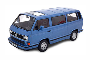 VW BUS T3 BLUE STAR 1993 LIGHTBLUE-METALLIC LIMITED EDITION 500 PCS