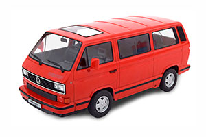 VW BUS T3 RED STAR 1993 RED LIMITED EDITION 500 PCS