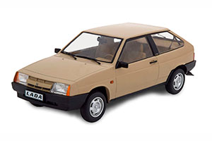 VAZ 2108 LADA SAMARA 1984 LIGHTBROWN LIMITED EDITION 250 PCS | ВАЗ 2108 ЖИГУЛИ ВОСЬМЕРКА