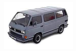 PORSCHE B32 BASED ON VW T3 1984 GREYMETALLIC LIMITED EDITION 1000 PCS