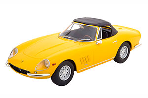 FERRARI 275 GTB/4 NART SPYDER WITH ALLOY RIMS 1967 YELLOW LIMITED EDITION 250 PCS