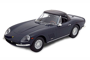 FERRARI 275 GTB/4 NART SPYDER WITH ALLOY RIMS 1967 DARKBLUE LIMITED EDITION 250 PCS