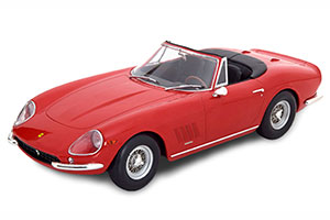 FERRARI 275 GTB/4 NART SPYDER WITH SPOKE RIMS 1967 RED LIMITED EDITION 1000 PCS