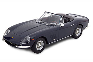 FERRARI 275 GTB/4 NART SPYDER WITH SPOKE RIMS 1967 DARKBLUE LIMITED EDITION 500 PCS