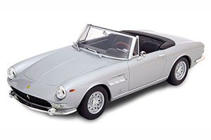 FERRARI 275 GTS PININFARINA SPYDER WITH ALLOY RIMS 1964 SILVER LIMITED EDITION 250 PCS