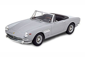 FERRARI 275 GTS PININFARINA SPYDER WITH SPOKE RIMS 1964 SILVER LIMITED EDITION 500 PCS