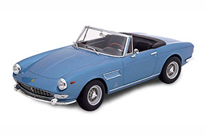 FERRARI 275 GTS PININFARINA SPYDER WITH SPOKE RIMS 1964 LIGHTBLUE-METALLIC LIMITED EDITION 500 PCS