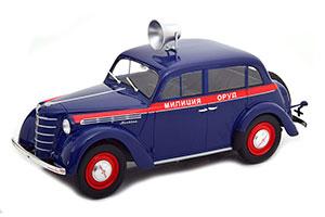 MOSKVICH 400 ORUD POLICE 1946 LIMITED EDITION 200 PCS *МОСКВИЧ