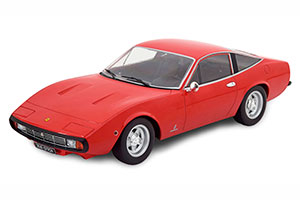FERRARI 365 GTC4 1971 RED INTERIEUR BLACK LIMITED EDITION 1500 PCS