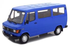 MERCEDES 208 D BUS 1988 BLUE LIMITED EDITION 750 PCS