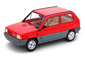 FIAT PANDA 30 MK 1 1980 RED LIMITED EDITION 1250 PCS