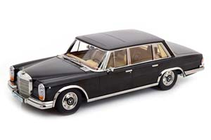 MERCEDES 600 SWB W100 1963 BLACK