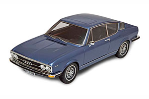 AUDI 100 COUPE S 1970 BLUEMETALLIC LIMITED EDITION 500 PCS BOX DAMAGED