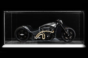 SHOWCASE FOR KTS RAMPAGE 1:6 BIKE 2016 (DIMENSIONS 500 x 250 x 220 MM) *ВИТРИНА БОКС