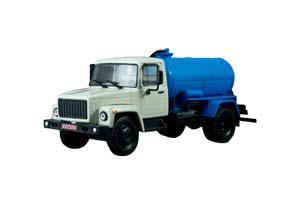 GAZ 3307 KO-503B (USSR RUSSIA TRUCK) | ГАЗ-3307 КО-503В ЛЕГЕНДАРНЫЕ ГРУЗОВИКИ СССР #21 *ГАЗ ГОРЬКОВСКИЙ АВТОЗАВОД ГОРЬКИЙ