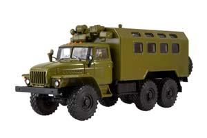 URAL K4320 ARMY KUNG (USSR RUSSIA) DARK GREEN | УРАЛ K4320 АРМЕЙСКИЙ КУНГ ЛЕГЕНДАРНЫЕ ГРУЗОВИКИ СССР #27 *УРАЛ УРАЛЬСКИЙ АВТОЗАВОД МИАССКИЙ