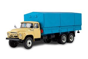 ZIL 133G1 (USSR RUSSIA TRUCK) BEIGE/BLUE | ЗИЛ 133Г1 ЛЕГЕНДАРНЫЕ ГРУЗОВИКИ СССР №28