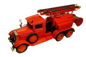 ZIS-5V FIRE TRUCK (USSR RUSSIA) | ПМЗ-7 (ЗИС-5В) *ЗИС