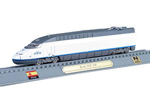 TRAIN RENFE AVE 100 HIGH-SPEED TRAIN SPAIN 1992 *ПОЕЗД