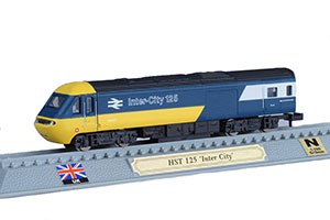 TRAIN HST 125 INTER CITY HIGH SPEED DIESEL LOCOMOTIVE UK 1976 *ПОЕЗД